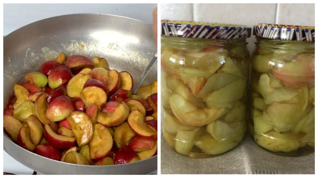 Яблоки в желе: Простая, вкусная и быстрая заготовка для занятых хозяек